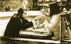 Pulp Fiction Bilder: Vincent und Mia 2_06