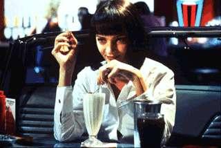 Pulp Fiction Bilder: Vincent und Mia 2_07