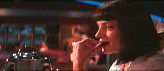 Pulp Fiction Bilder: Vincent und Mia 2_09