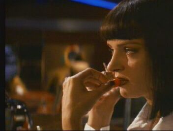 Pulp Fiction Bilder: Vincent und Mia 2_14