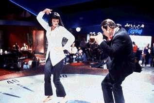 Pulp Fiction Bilder: Vincent und Mia 2_20