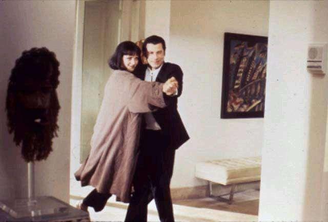 Pulp Fiction Bilder: Vincent und Mia 2_22